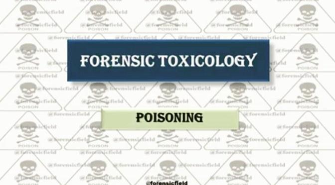 Forensic Toxicology (Poisoning)
