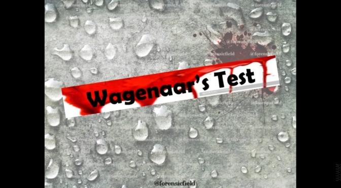 Wagenaar's Test